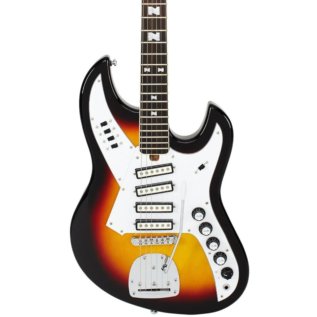 medium resolution of eastwood guitars normaeg5214 sunburst left hand featured