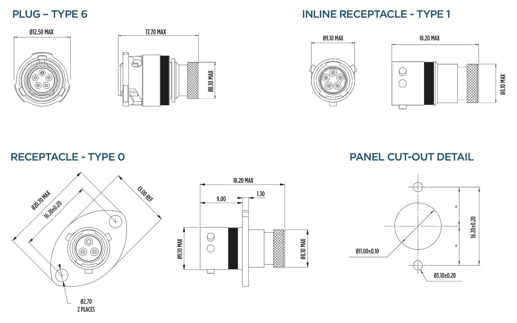 medium resolution of connectors deutsch autosport asu pin connectors