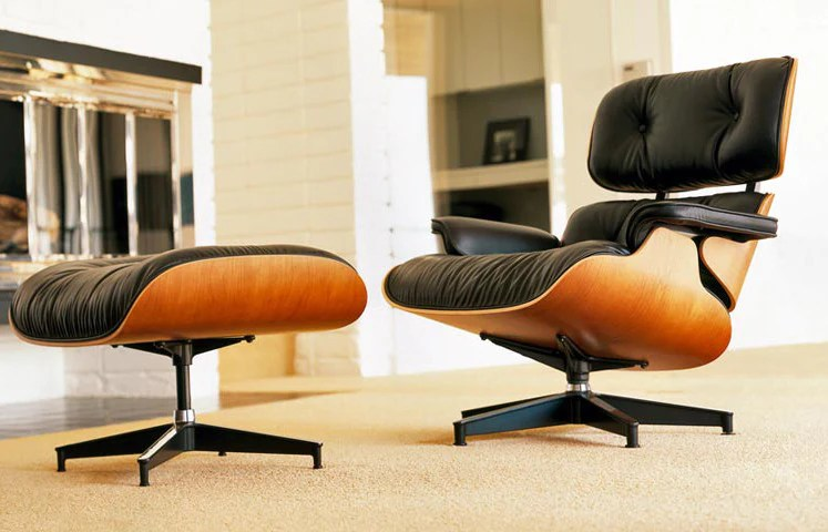 eames lounge chair for sale orange accent chairs and ottoman occassional ottomans by