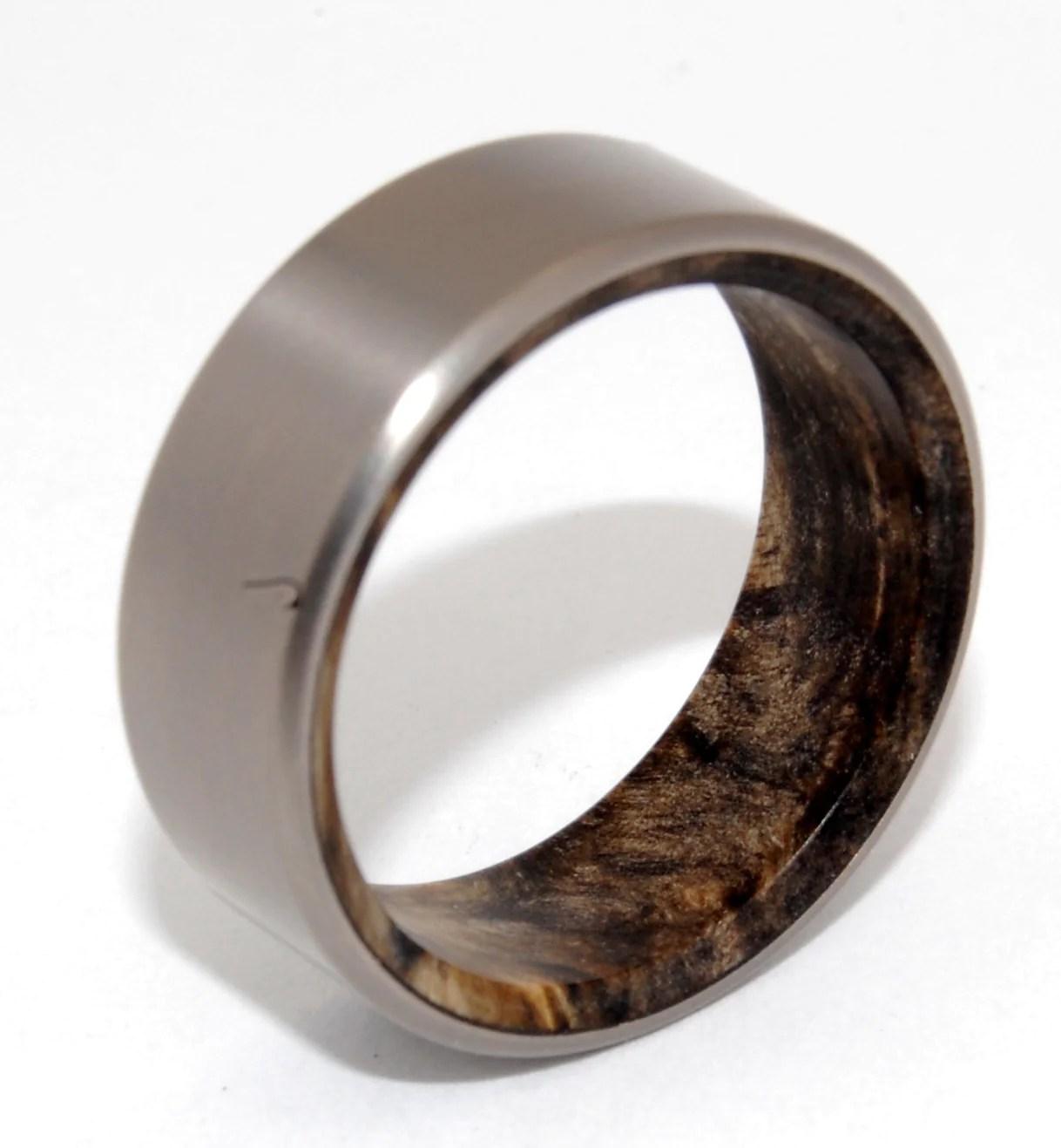 Minter  Richter  Titanium Rings  Unique Wedding Rings  Minter and Richter Designs