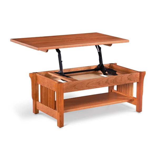 mission lift top coffee table chilton furniture