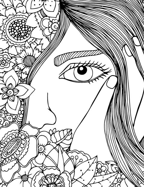 A Special Coloring Book For Girls Live Your Life In Color Series Coloring Book Zone