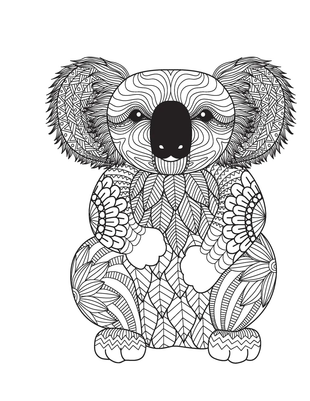 Amazing Animals for Adults Who Color - Live Your Life in ... | printable colouring pages for adults animals