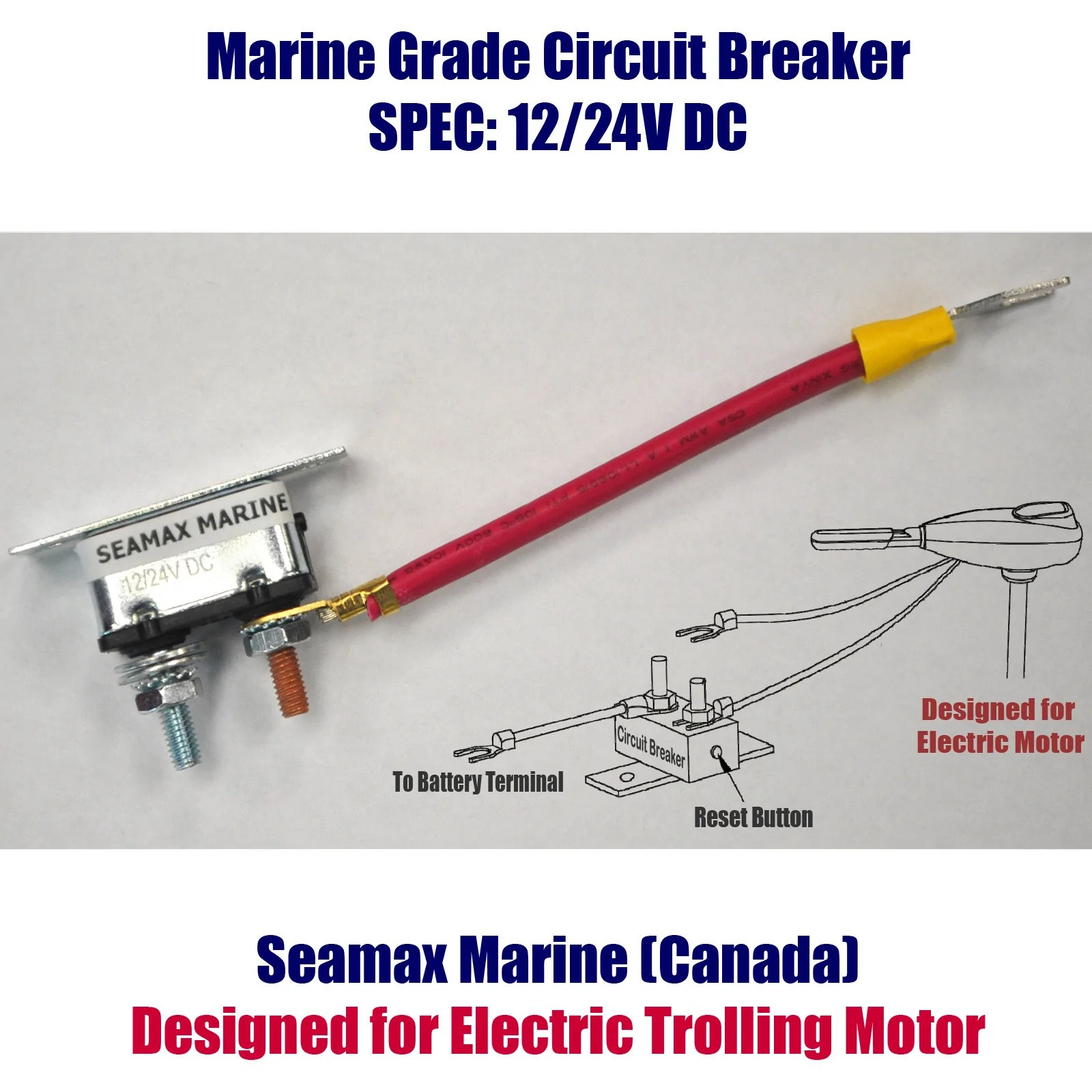small resolution of motors seamax marine trolling motor wiring guide trolling motor plug wiring diagram