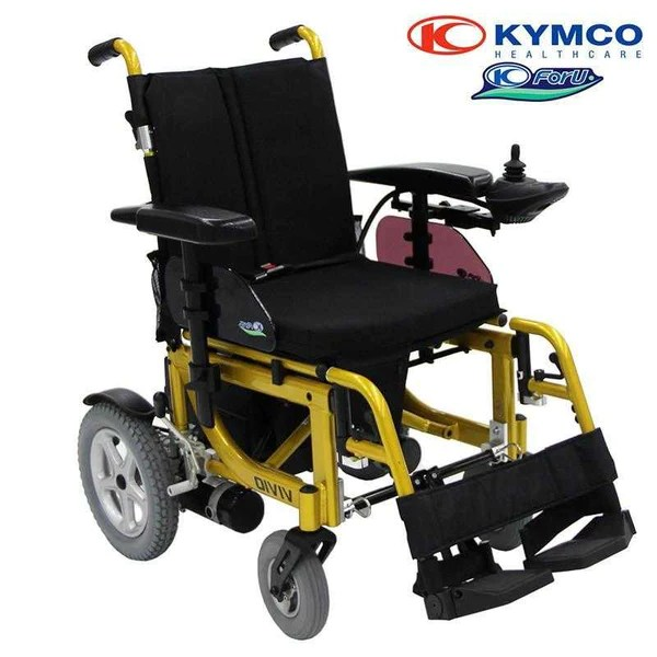 英國 Kymco Vivio 折疊式電動輪椅 – 好好醫療用品