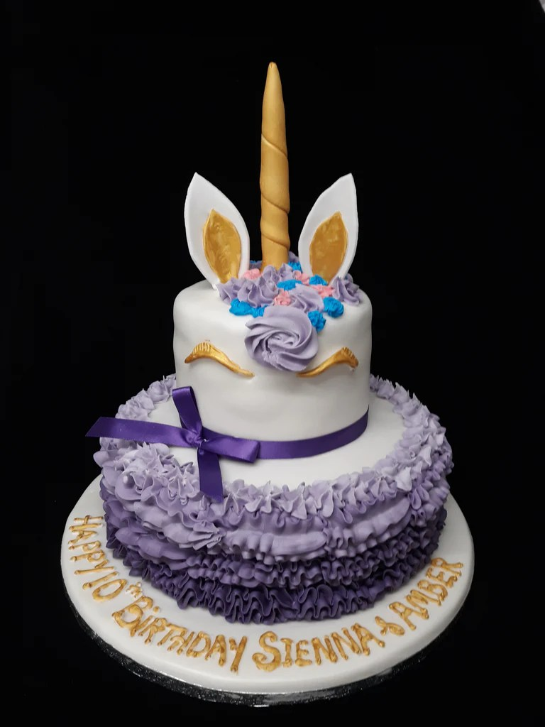2 Tier Unicorn Birthday Cake Celticcakes Com