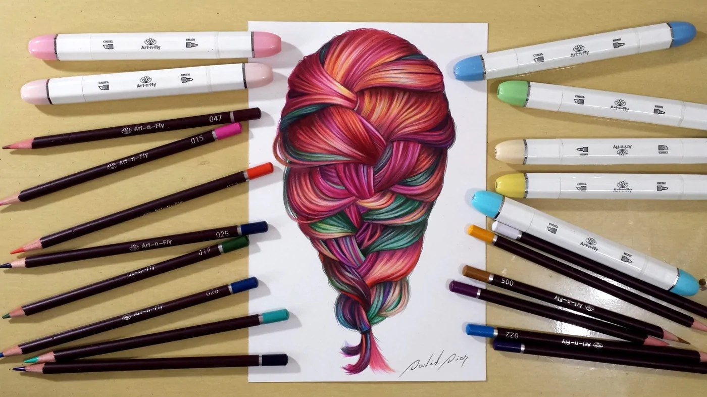 draw coloring colorful