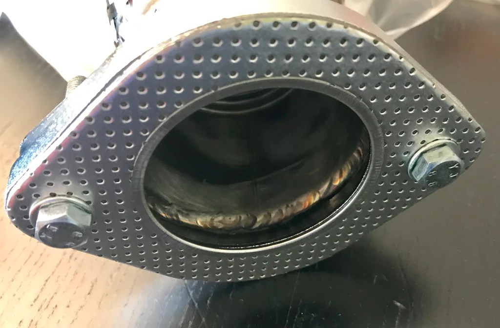 3 to 2 5 and stock exhaust downpipe adapter kit fiesta st focus st
