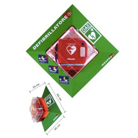 Teca Iredeem riscaldata per esterno – Defibrillatori online