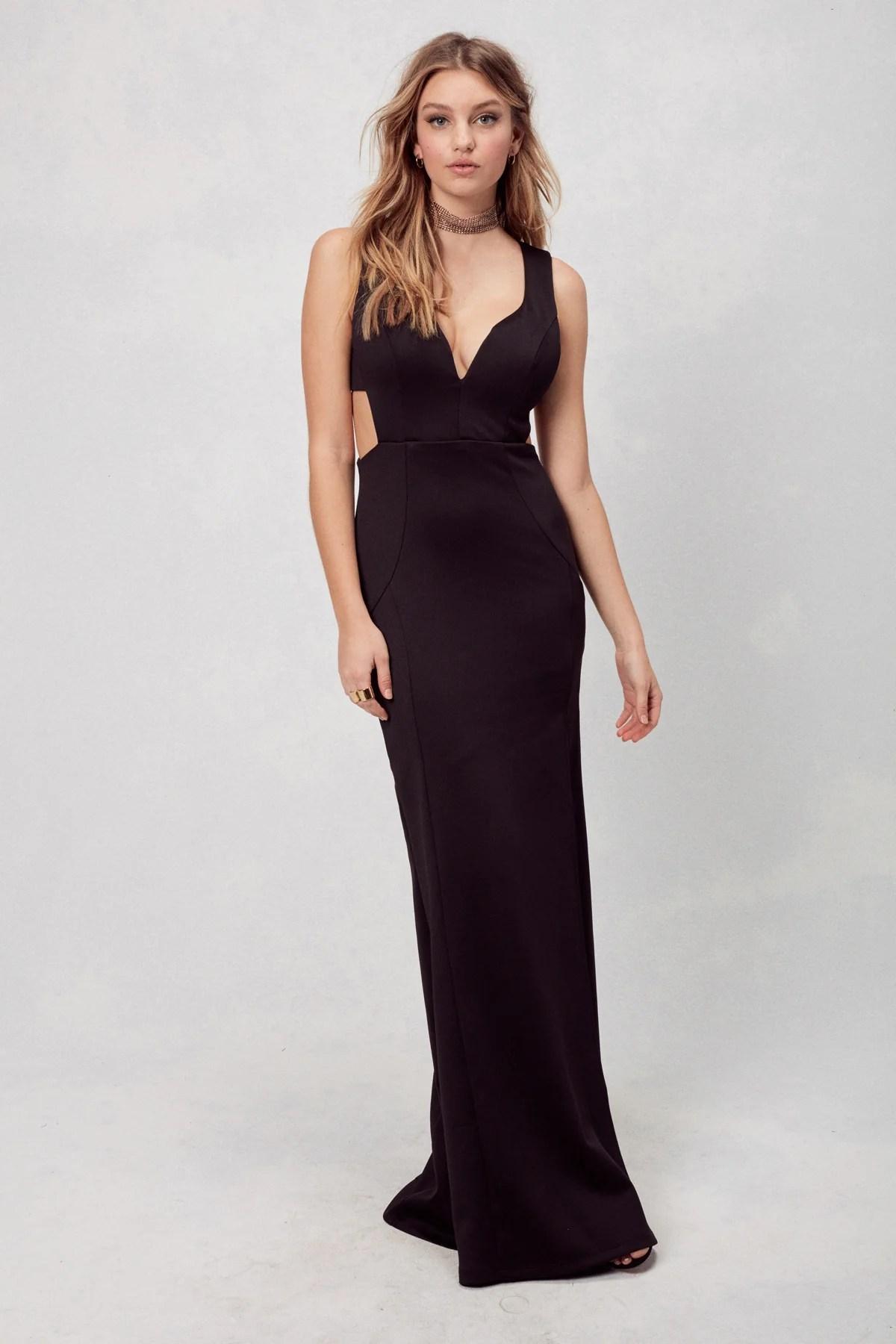 Oh la gown in black also  emerald sundae rh emeraldsundae