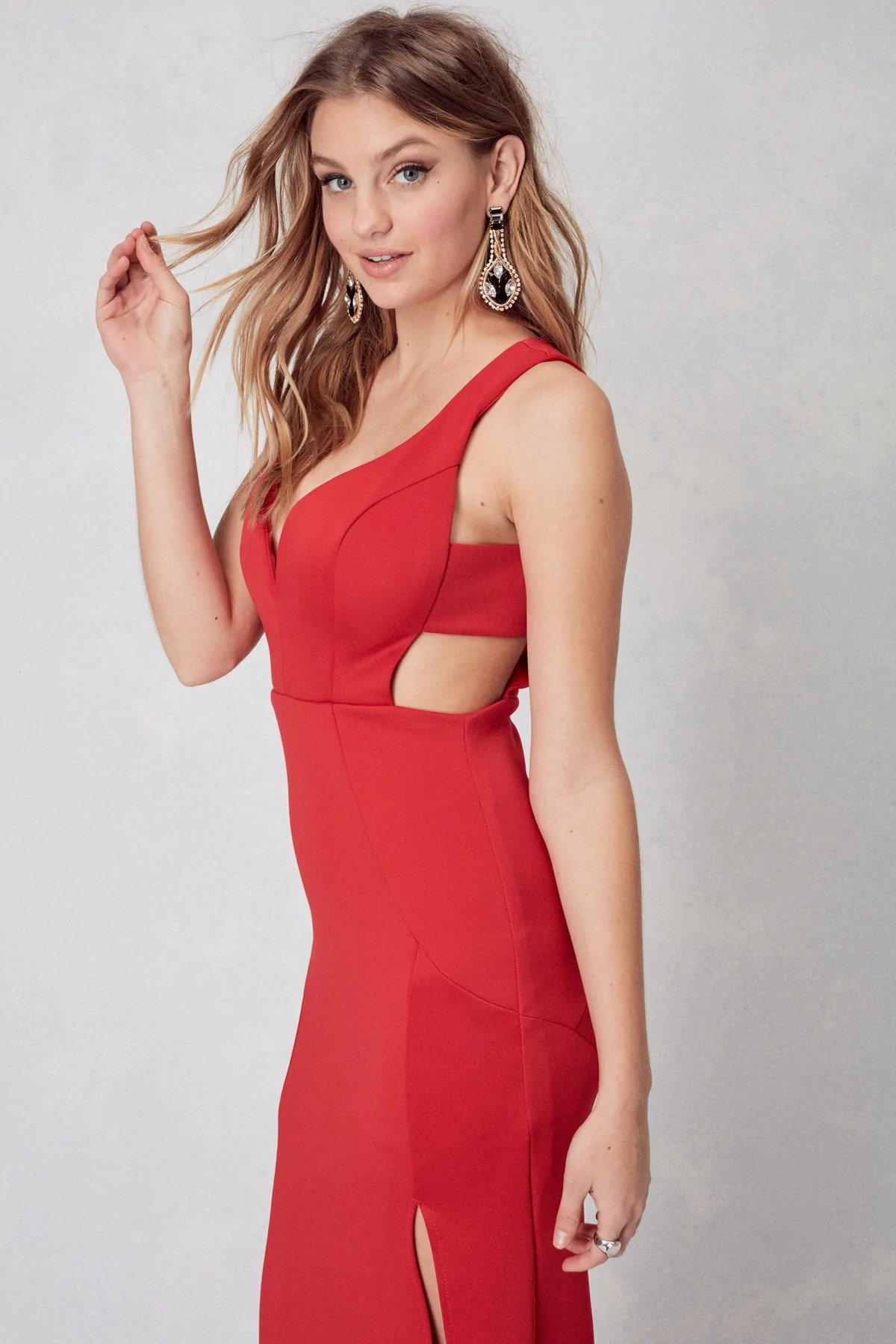 Oh la gown in red also  emerald sundae rh emeraldsundae