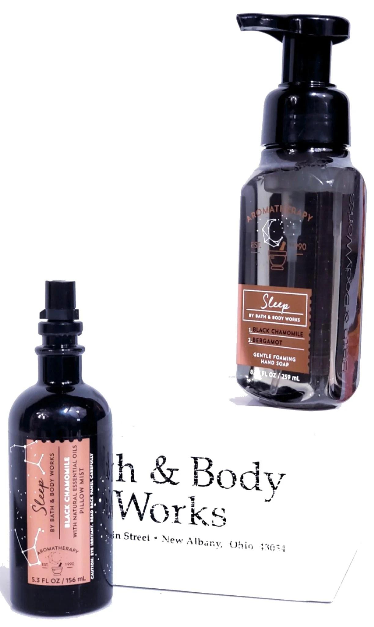 bath body works sleep foam hand soap