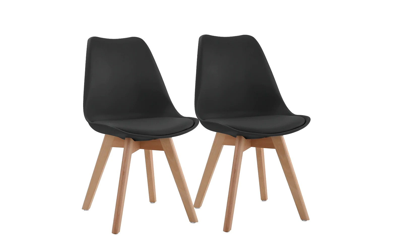Modern Leather Chairs Shi Set Of 2 Modern Leather Kitchen Chairs