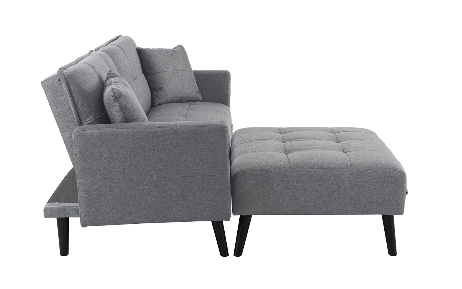 berwick mid century sleeper sofa nottingham makers madison linen sofamania