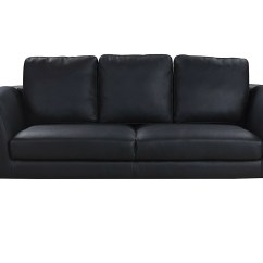 Plush Leather Chair Grey Check Covers Santiago Mid Century Modern Sofa Sofamania