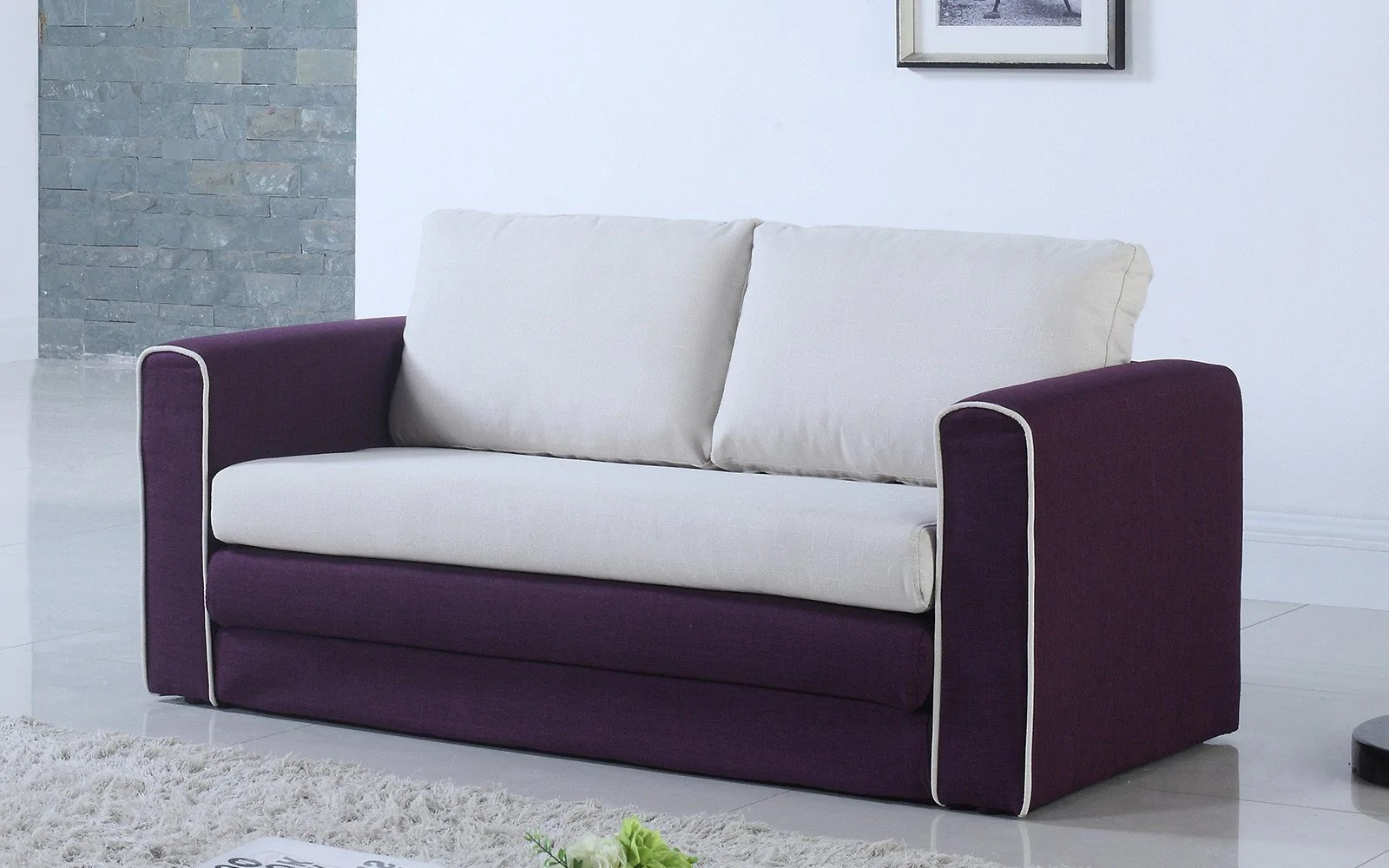 alicia two tone modern sofa and loveseat set sectional sofas miami florida ann 2 bed sofamania
