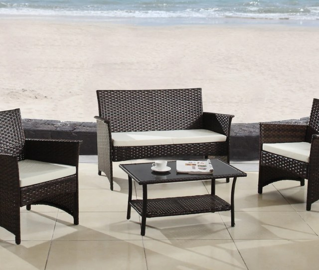 Kailua Cl Ic  Piece Rattan Outdoor Set
