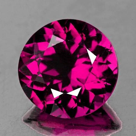 570mm Round Natural AAA Raspberry Pink Rhodolite Garnet