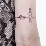 30 Cute Small Simple Dog Tattoo Ideas For Women Animal Lovers Mybodiart