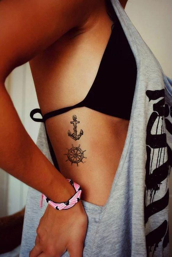 Women's Side Tattoos : women's, tattoos, Feminine, Tattoo, Ideas, Women, Inspirational, MyBodiArt
