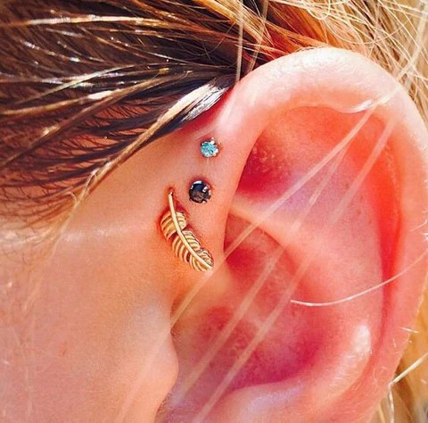 Ear Piercing Ideas  MyBodiArt