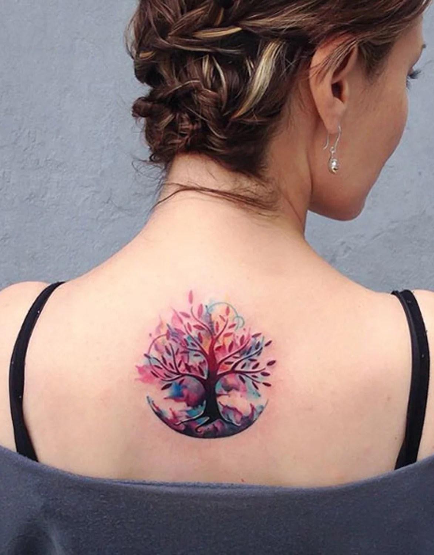 Women Tree Tattoos : women, tattoos, Beautiful, Tattoo, Ideas, Women, MyBodiArt