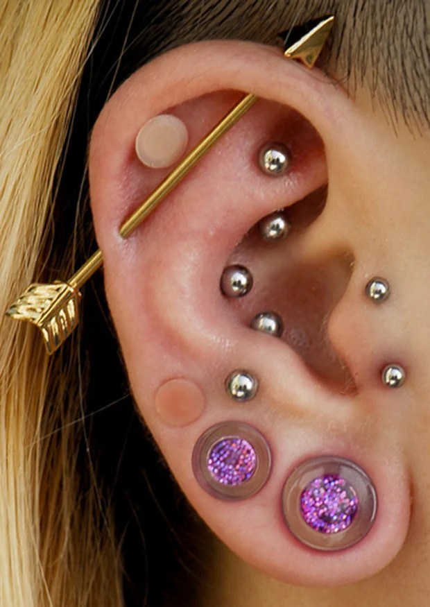 Industrial Barbells 14G Industrial Piercing Jewelry