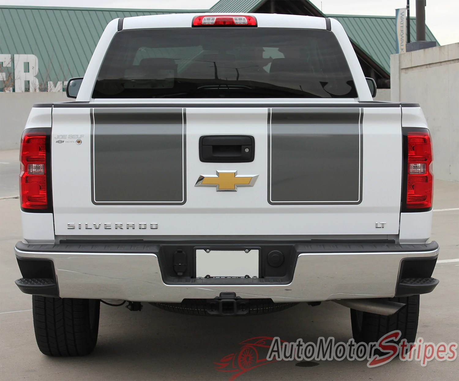 small resolution of  2014 2015 chevy silverado 1500 rally edition style truck racing vinyl graphics 3m stripes kit