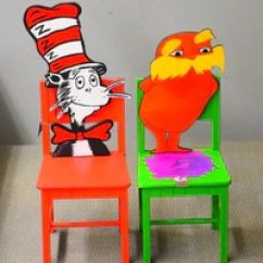 Dr Seuss Chair Teal Office Set After School Matters Gift Shop