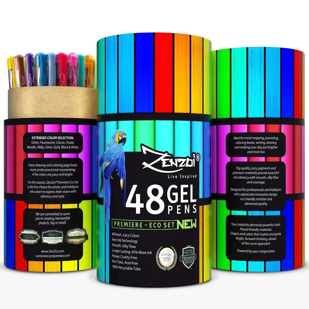 gel ink pens set