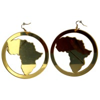 Afrocentric and Natural Hair Earrings