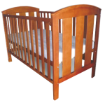 Vita Robust Wooden Baby Cot 4x2ft