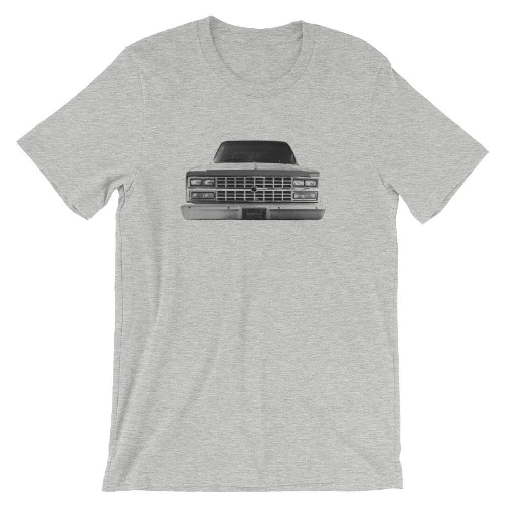 73 87 chevy c10 truck tee shirt killfab clothing co  [ 1000 x 1000 Pixel ]