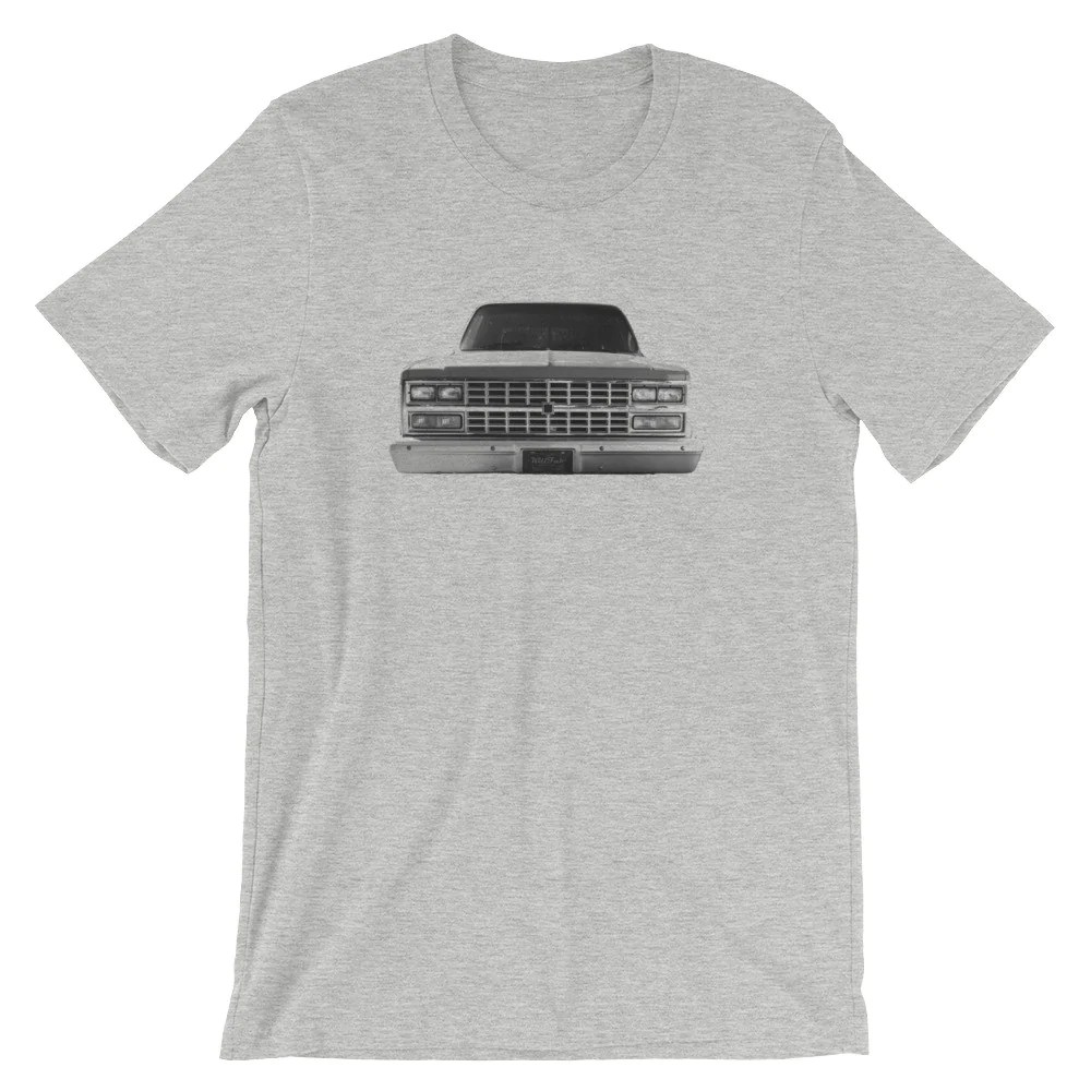 hight resolution of 73 87 chevy c10 truck tee shirt killfab clothing co
