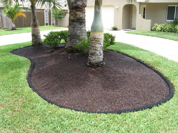 bonded rubber mulch design