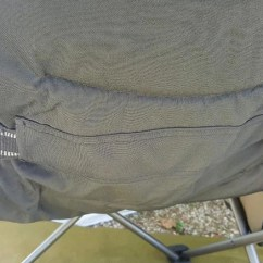 Oztent King Kokoda Chair Review Armless Rocking For Sale With Solid Arms Adjustable Lumbar