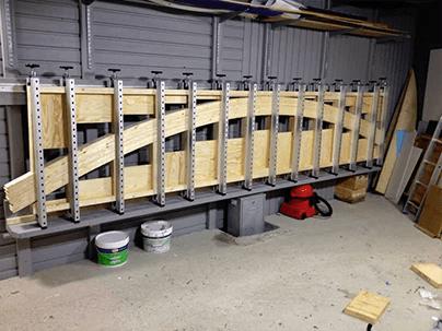 Plano Vertical Glue Press Advanced Machinery