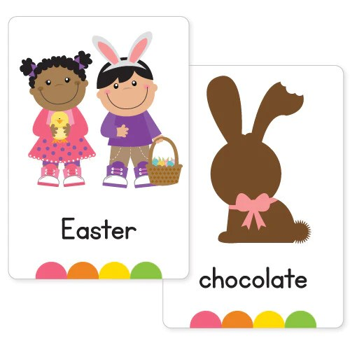 Easter Flash Cards Busy Little Bugs