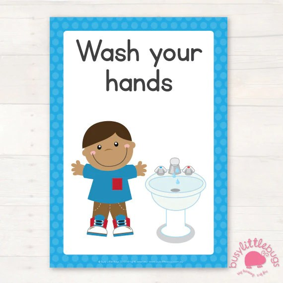 Preschool bathroom signs Washroom Clean Kitchen Decor Preschool Bathroom Signs