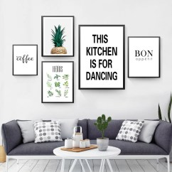 Framed Prints For Kitchens Kitchen Hutch Cabinets This Is Dancing Wall Canvas Painting But First Coffee Art Pictures Posters