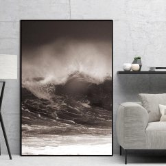 Living Room Art Decor Llama In My Remix Wave Scandinavian Landscape Nordic Abstract Wall Picture Decoration Pictures Canvas Painting Prints No