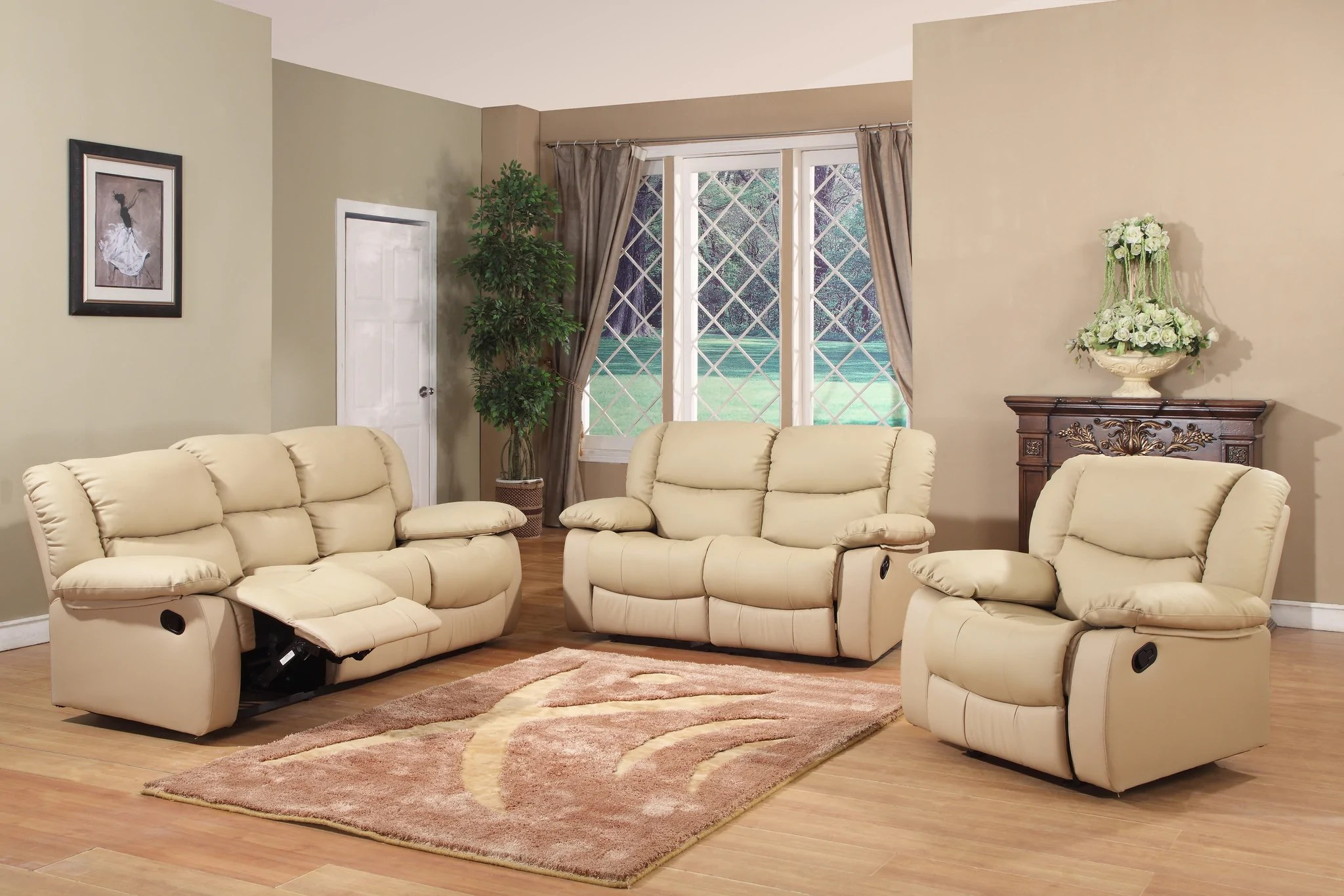 brooklyn bonded leather lounger chair and ottoman desk white black chocolate merlot or putty upholstered microfiber transitional configurable motion