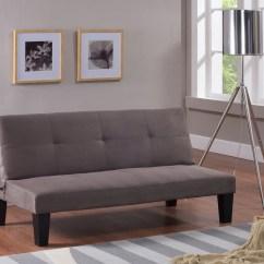 Sofa Microfiber Fabric Bed With Pull Out Philippines Lindzi Klick Klak Futon Sleeper