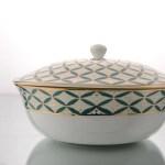 Buy Jyamiti Serving Bowl With Lid 2 Portion By Kaunteya Home Artisan