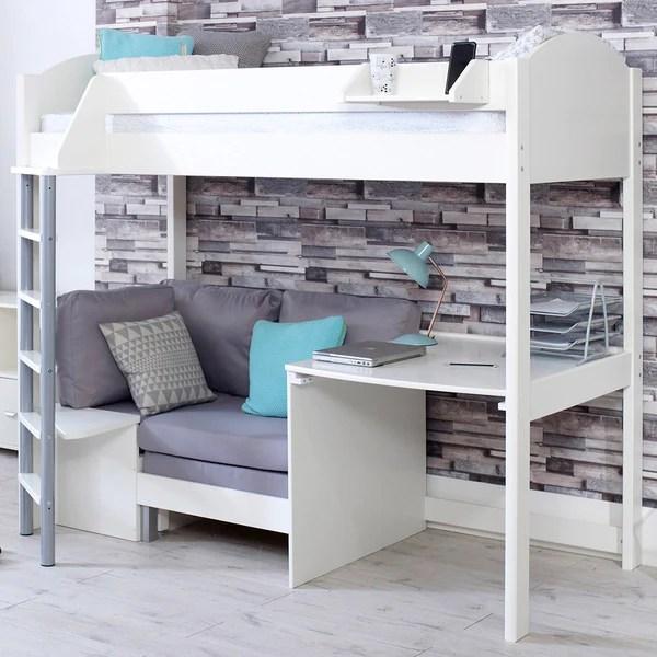 693f3b6ca574 stompa casa b 2 high sleeper with sofa bed u0026 desk u2013 family
