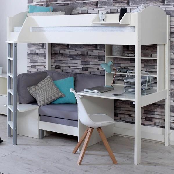 c6f0a13bdfd7 stompa casa c high sleeper with sofa bed desk u0026 shelf