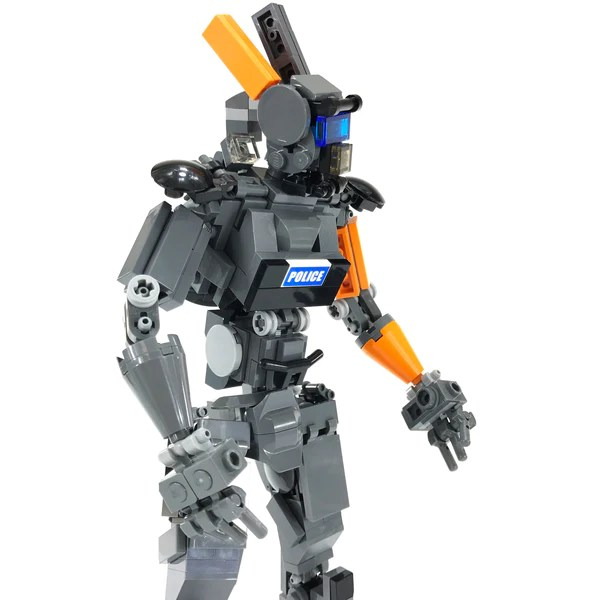 LEGO Chap-bot MOC inspired by the movie Chappie