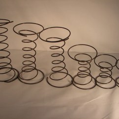 Sofa Spring Clip Strip Woodland Imports Metal Rectangular Console And Table Springs Cushion Units Roncofurniture Coil