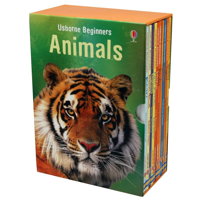 Usborne My First Animal Library Collection 10 Book Set – Daves Deals