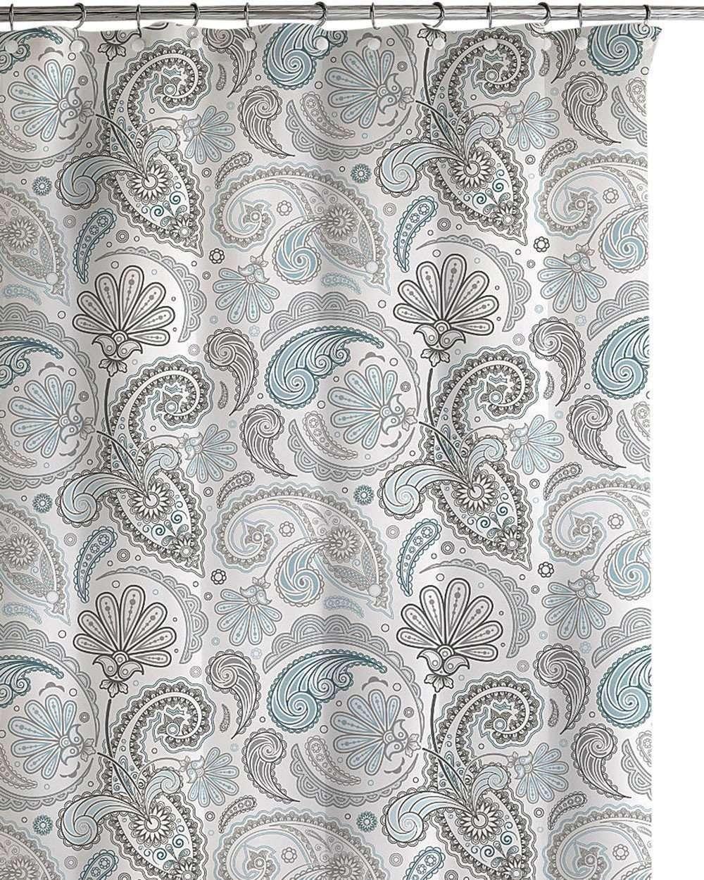 Daliah Paisley Shower Curtain